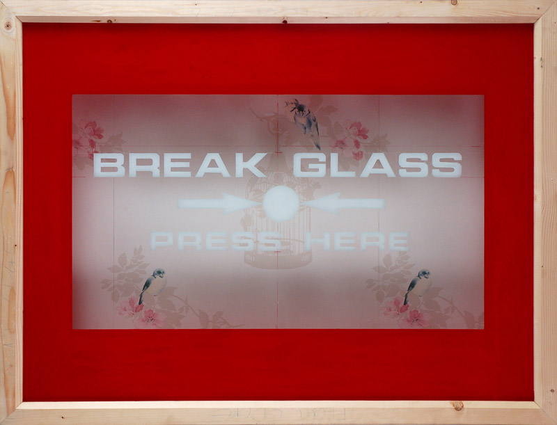 Break-glass-working